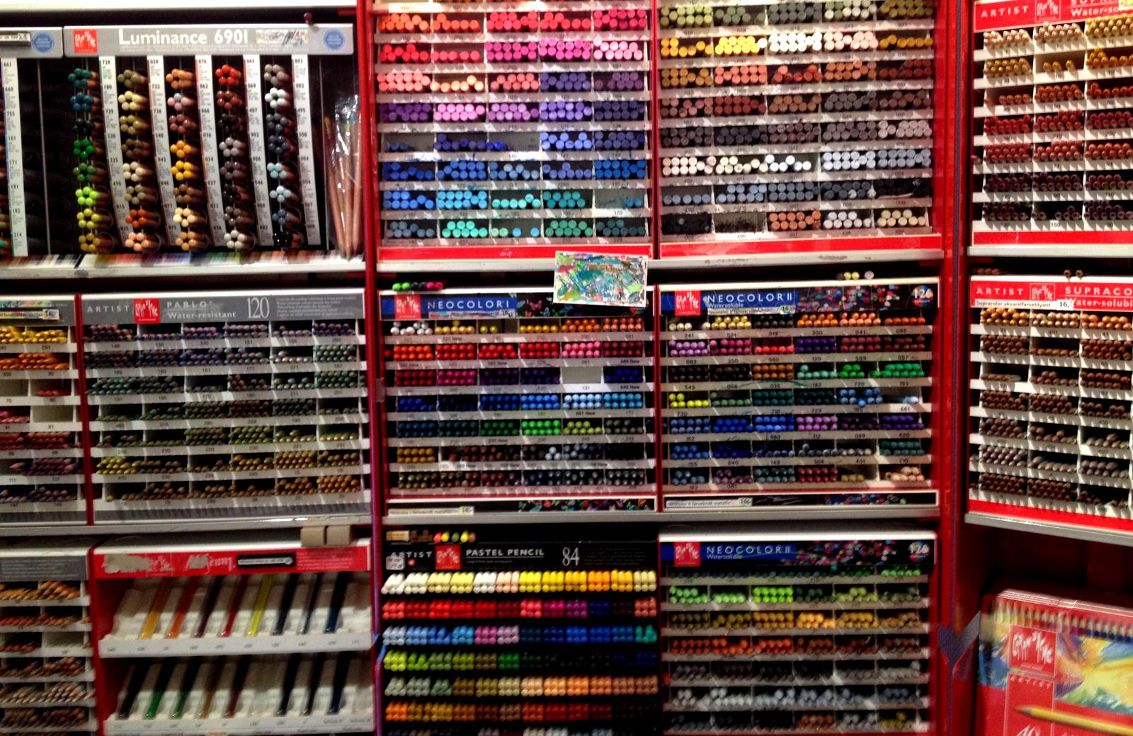 art supplies store